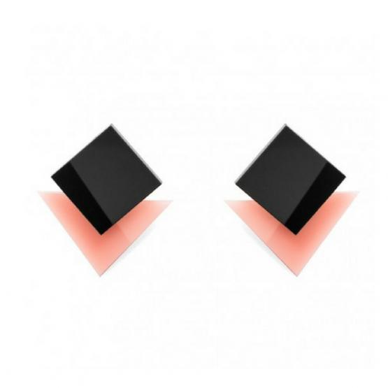 pendientes de plexiglas