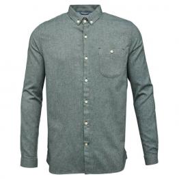 camisa verde de franela