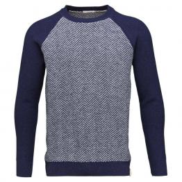 jersey de lana en navy