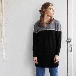 vestido tricot emes