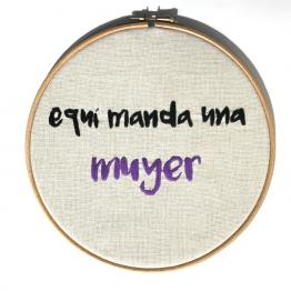 BASTIDOR EQUÍ MANDA