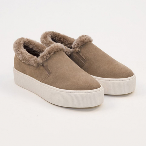 SLIP ON FURY BEIGE