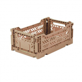 CAJA PLEGABLE MINI WARM TAUPE