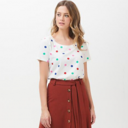 CAMISETA RAINBOW DOTS