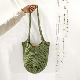 BOLSO SHOPPER CAQUI