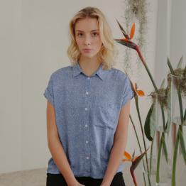 blusa Sonia azul