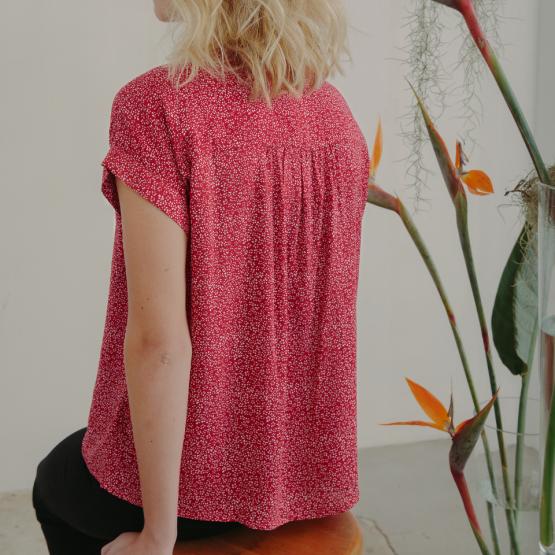 blusa Sonia roja 1